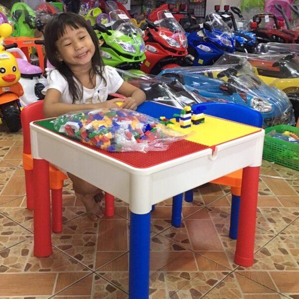 โต๊ะต่อเลโก้ 2in1